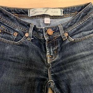 Seven 7 Flare Women's Jeans